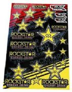 4MX Rockstar sticker set